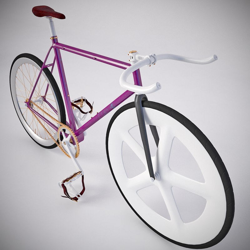 vintage fixed gear bicycle max