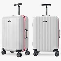 Travel Bag Suitcase Kingtrip White