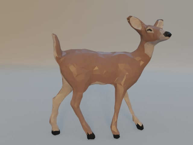 free x mode geometric deer