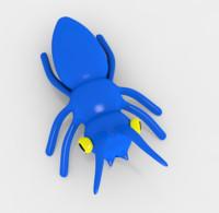 3d bug cartoon