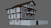 3d turkish house model