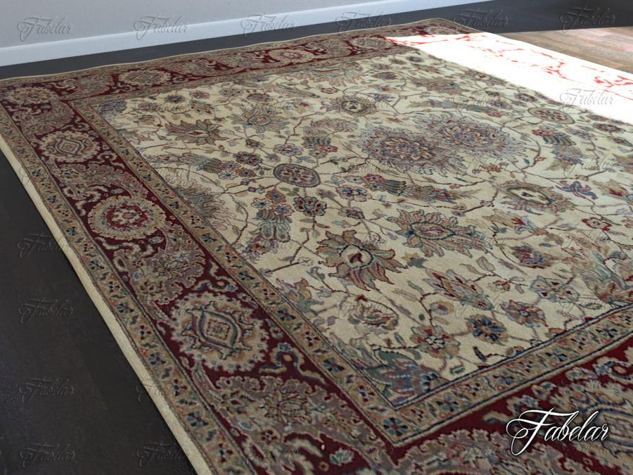 3d model carpet modeled