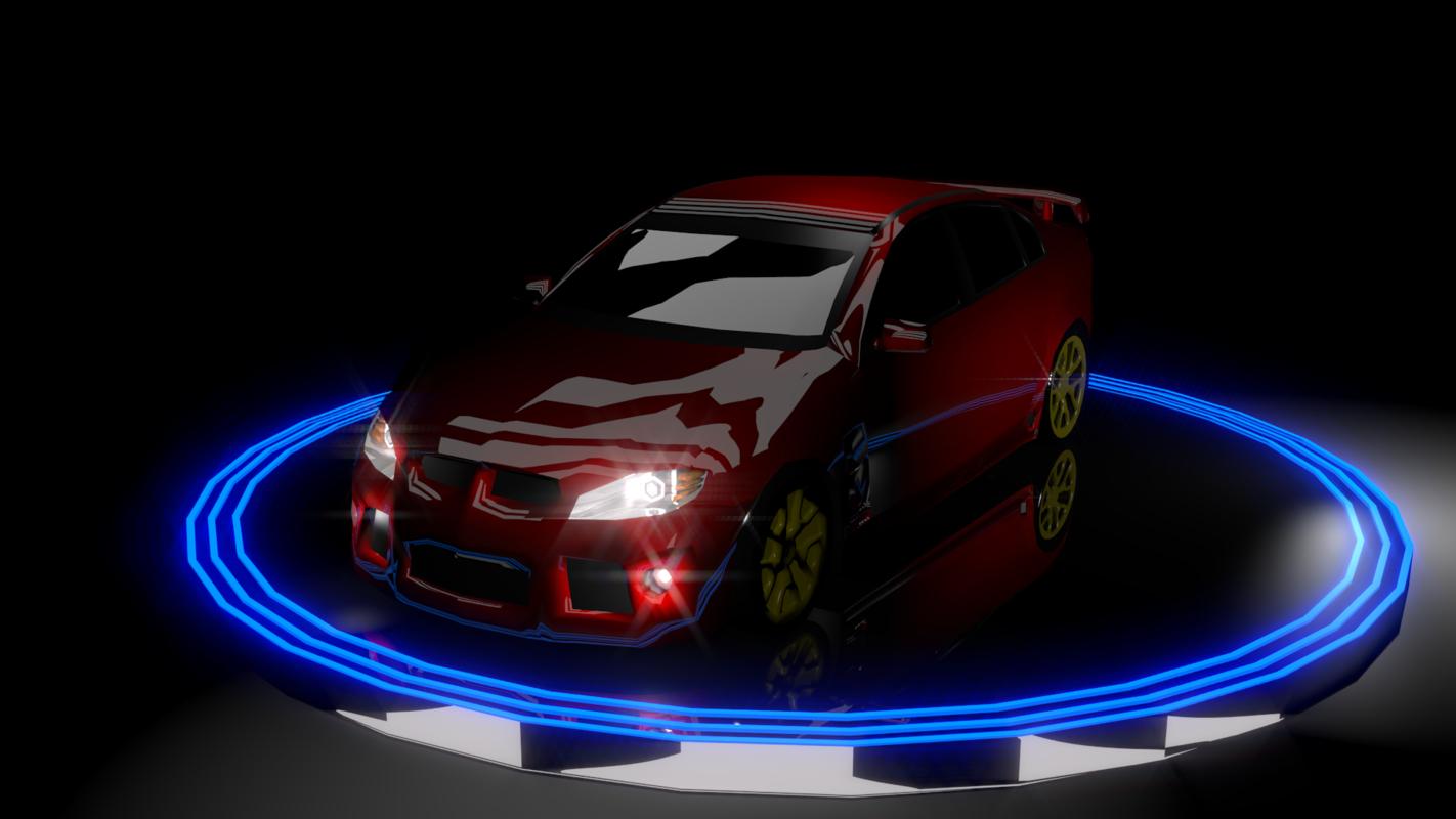 free car commodores 3d model