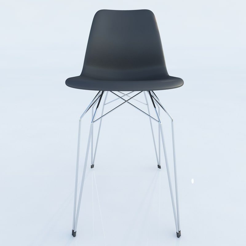 3d diamond chair kubikoff