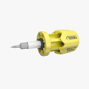 3d max tool screw turner teeny