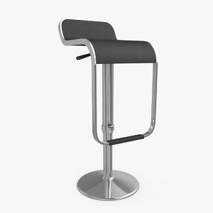bar stool 07 3ds