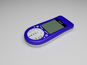 3ds max nokia 3660 cellphone