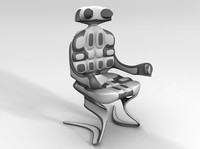 maya sci fi chair