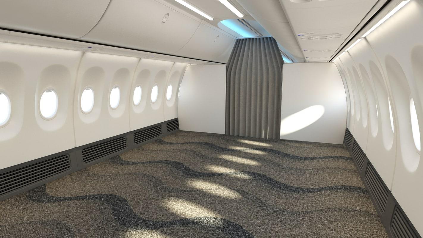 cabin interior 3d max