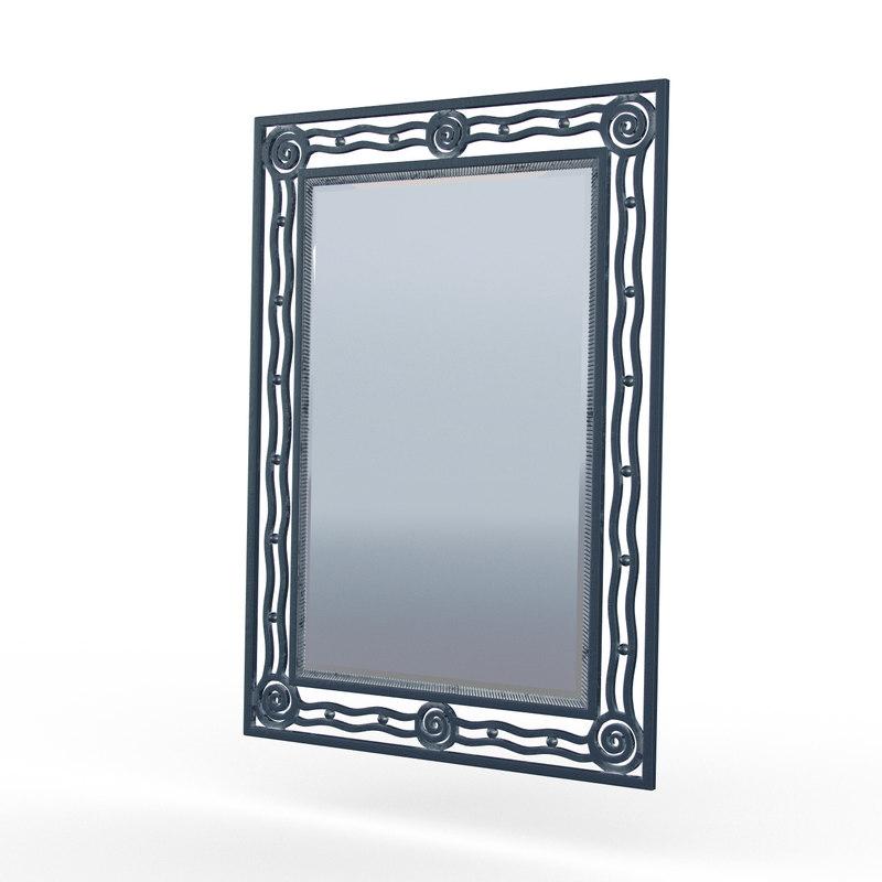 3d empire mirror model