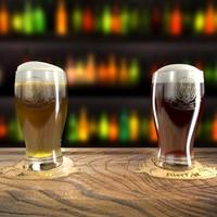 beer pint 3d max