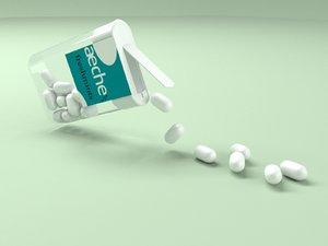 plastic mints 3d model