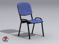 3d desk chair