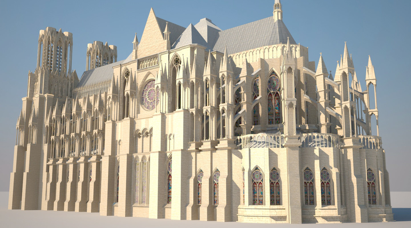 reims gothic cathedral max