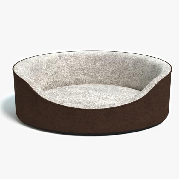 3d model of pet bed