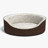 3d model of pet bed