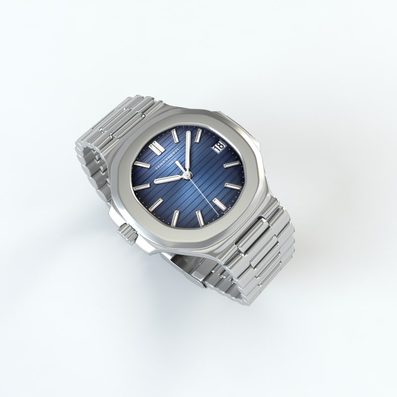 3d patek philippe nautilus watch