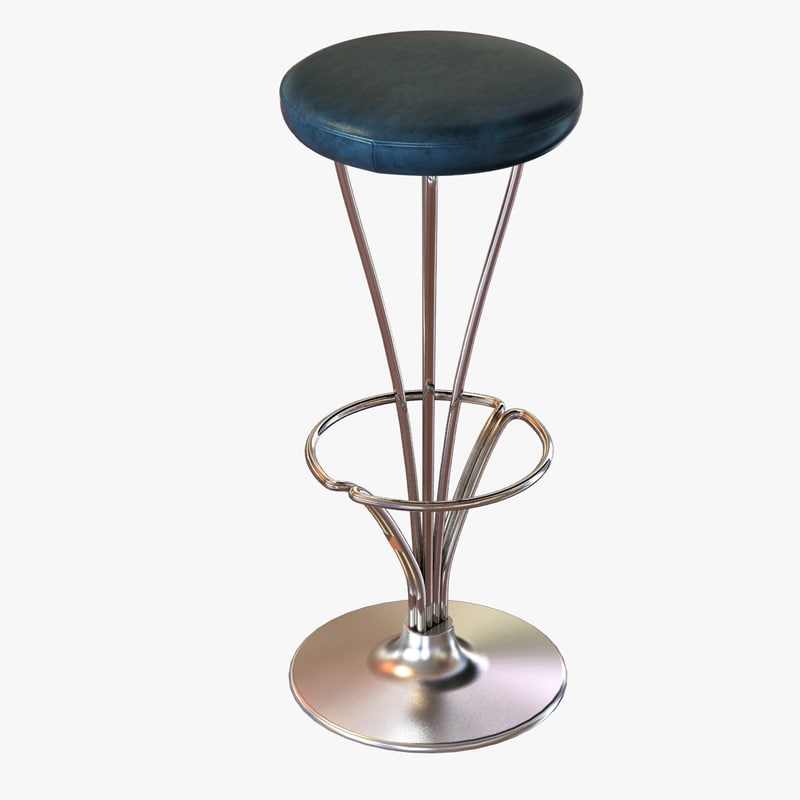 3d chair bar stools leather