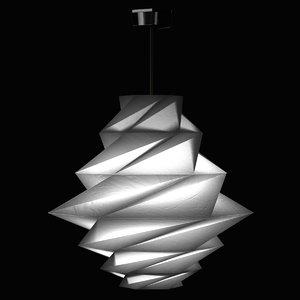 3d lamp light issey miyake