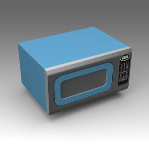 big chill microwave oven 3d fbx