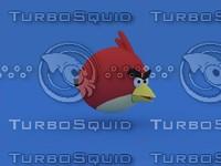 angry bird 3d obj