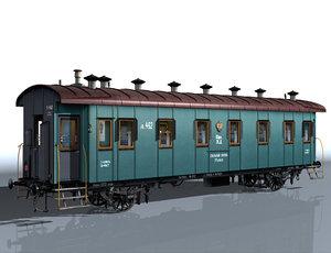 2-axle passenger wagon max