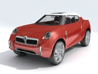3d model car mg icon
