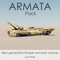 3d russian armata t-14 battle tank model
