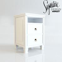 3d night stand ashley model