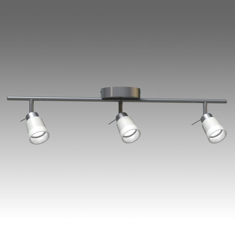 bazisk lamp ikea 3d model