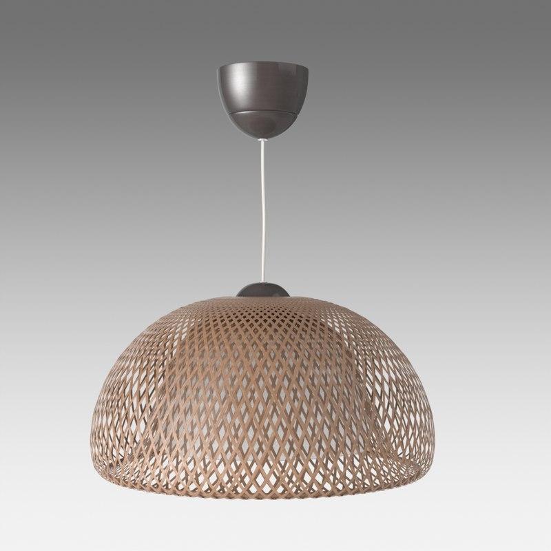 boja lamp ikea 3d model