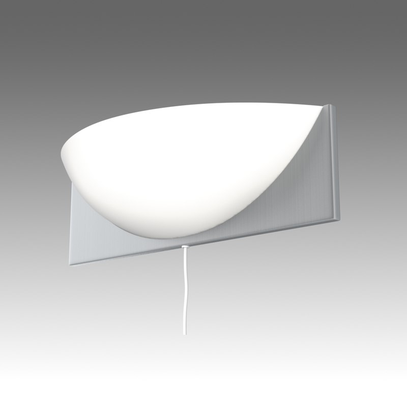 Klaviatur sconce ikea wall lamp 3d model aloadofball Gallery