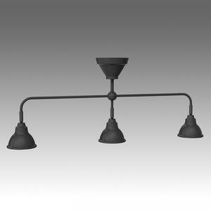 vitemolla lamp ikea 3d model