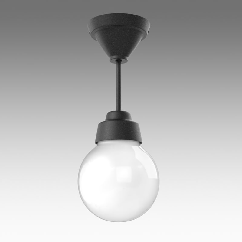 vitemolla lamp ikea 3d fbx