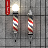 Barber Pole Lamp V2