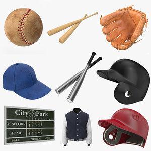 baseball 4 3d max