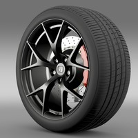 3d honda nsx wheel 2015 model