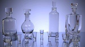 blender set glasses carafe