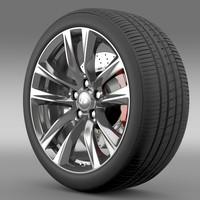 Infiniti Q70 Hybrid wheel 2015