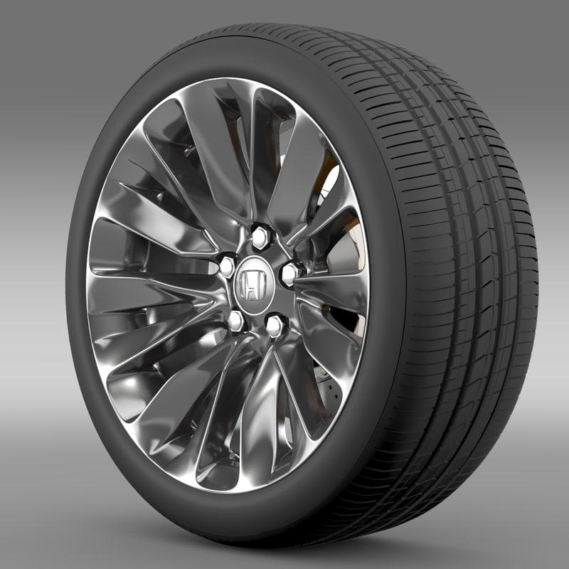 honda legend wheel 2015 3ds
