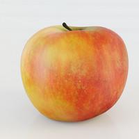 apple 3d obj