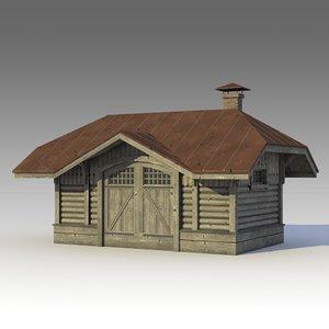 bulding buildings 3d model
