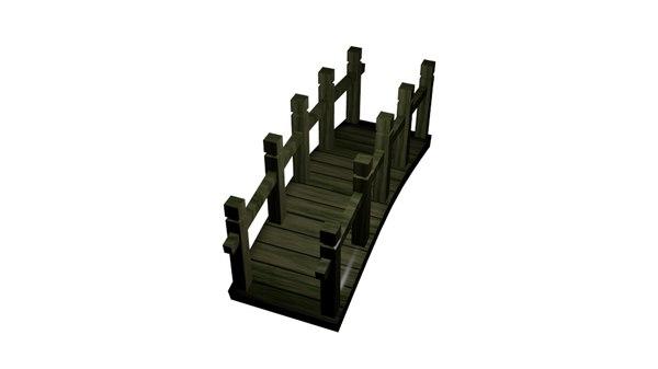 3dsmax garden bridge