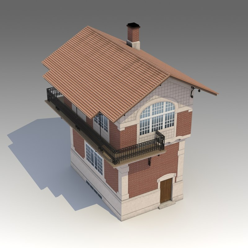 3d model of bulding buildings