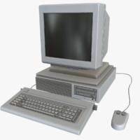 free computer 02 3d model