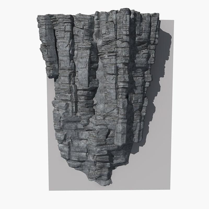 3d model rock 16