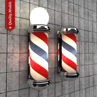 Barber Pole Lamp V3