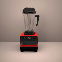 3ds max vitamix blender