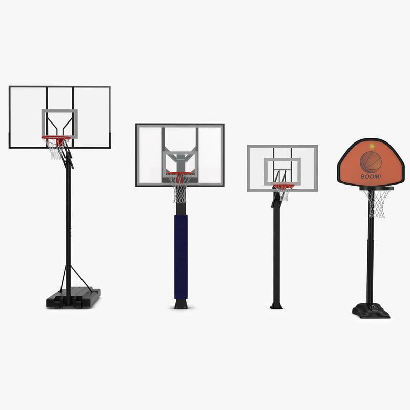 basketball hoops 3d 3ds