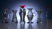 Ensemble de vases